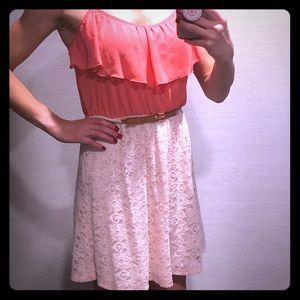 IZ Byer pink dress